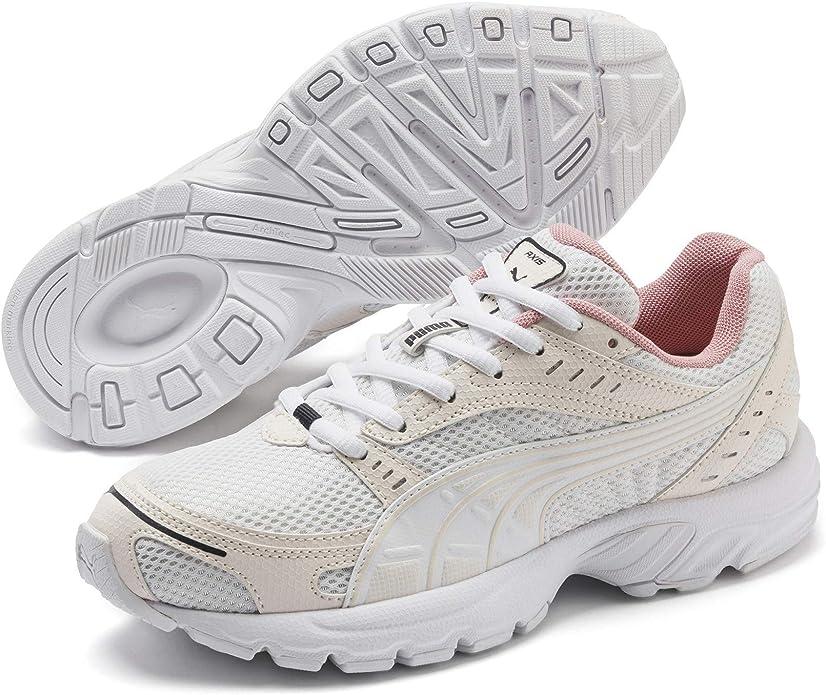 Puma Axis Sneakers Damen Herren Unisex Erwachsene Beige Weiß