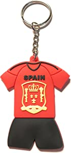 WETHEFOUNDERS Exclusive World Cup Russia 2018 Keychains Jersey Soccer Futbol (Spain)