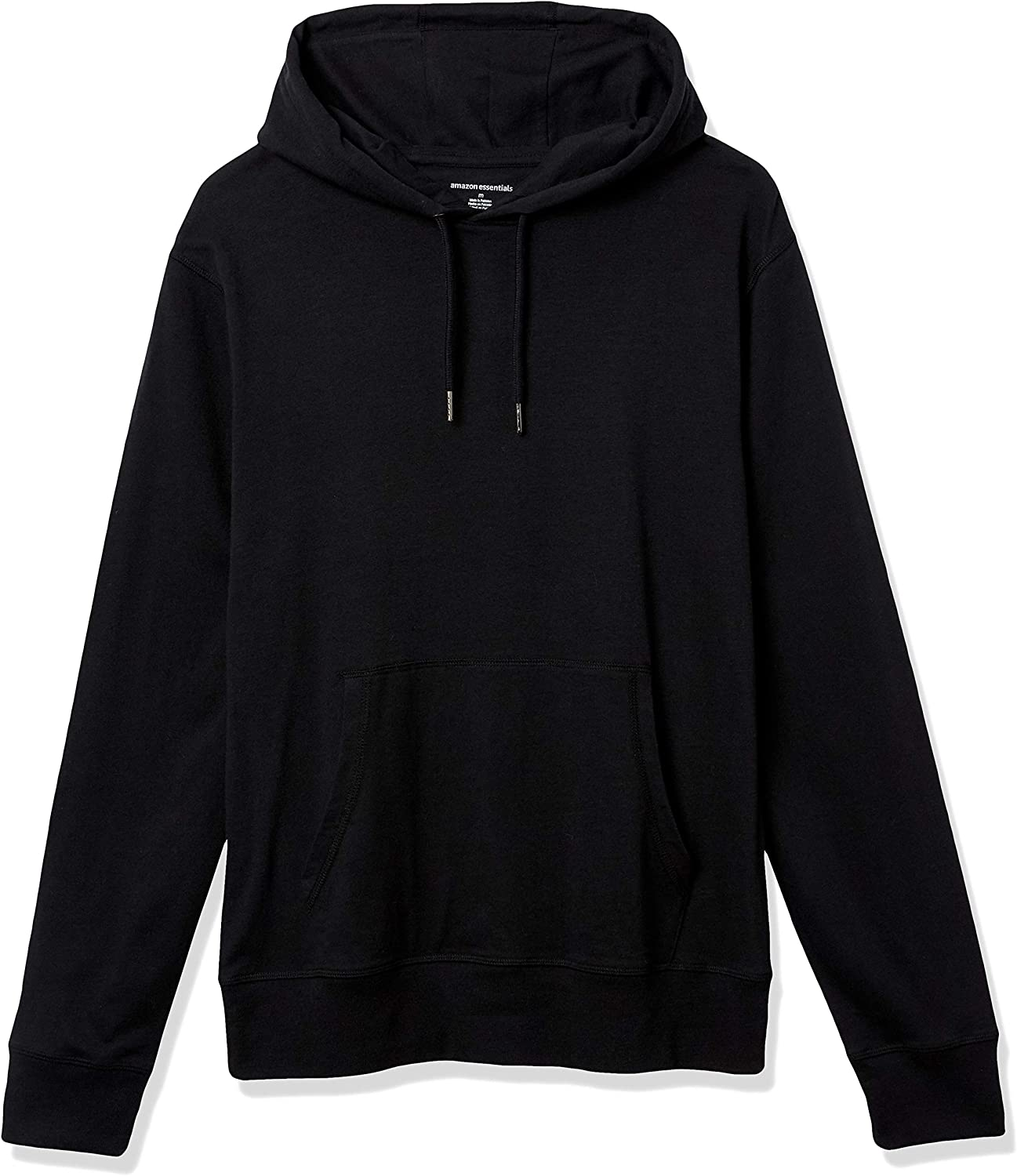 Essentials Men's Lightweight Jersey Pullover Hoodie: Clothing