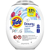 Tide Pods Pods +Downy Free, Liquid Laundry Detergent Pacs, 73 count