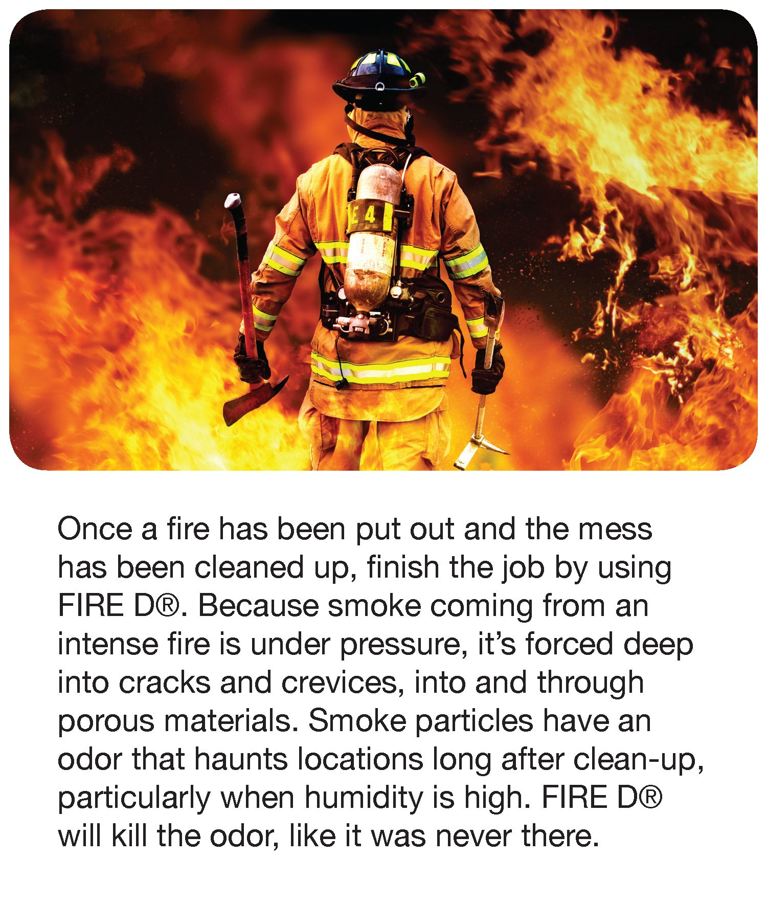 Big D 202 Fire D One Shot After Fire Odor Control Fogger, 5 oz (Pack of 12) - Kills odors from fire, flood, decomposition, cigarettes, musty smells - Ideal for use in cars, property management, hotels by Big D (Image #3)
