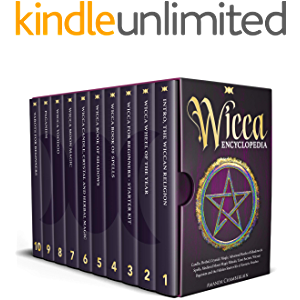 Wicca Encyclopedia: Candle, Herbal, Crystals' Magic, Advanced Books of Shadows & Spells, Medieval Moon Magic Rituals…