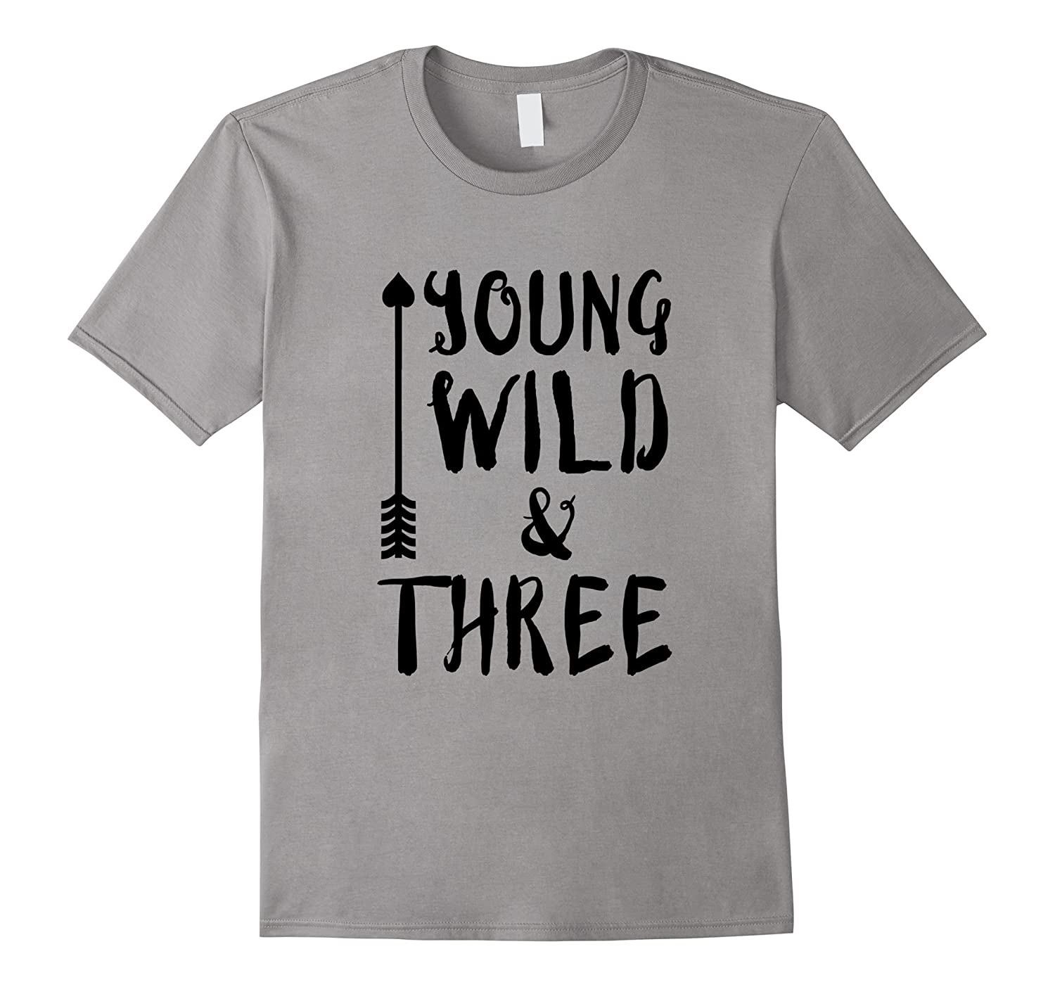 Young Wild and Three T-Shirt Kids Childrens-CD