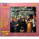 シューベルト:ピアノ五重奏曲「ます」/さすらい人幻想曲 ブレンデル&クリーヴランドQ レコード・アカデミー大賞の名盤がSACD化。