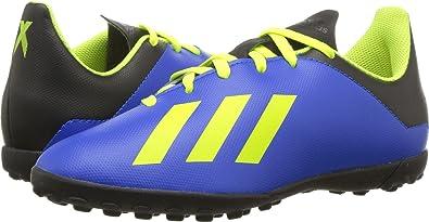 Romance attract Actor  adidas Unisex X Tango 18.4 TF J Soccer Shoe, Football Blue/Solar  Yellow/core Black, 12.5K M US Big Kid: Amazon.ca: Shoes & Handbags