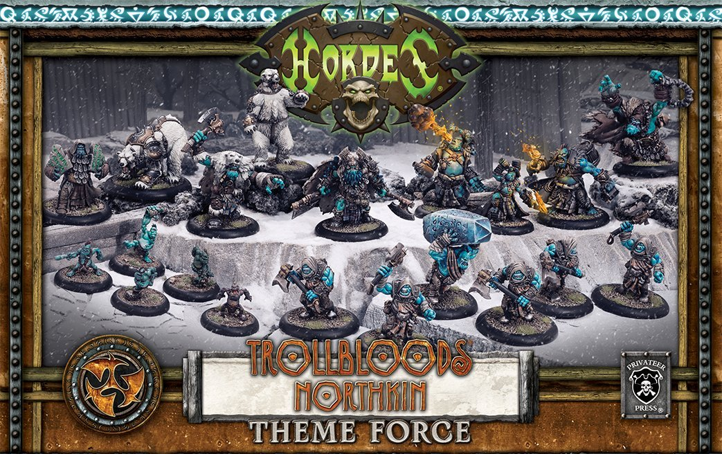Hordes: Trollblood Northkin Theme Force by Hordes