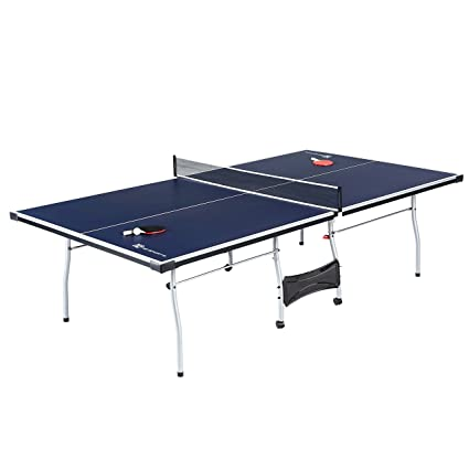 MD Sports Table Tennis Set, Regulation Ping Pong Table With Net, Paddles  And Balls