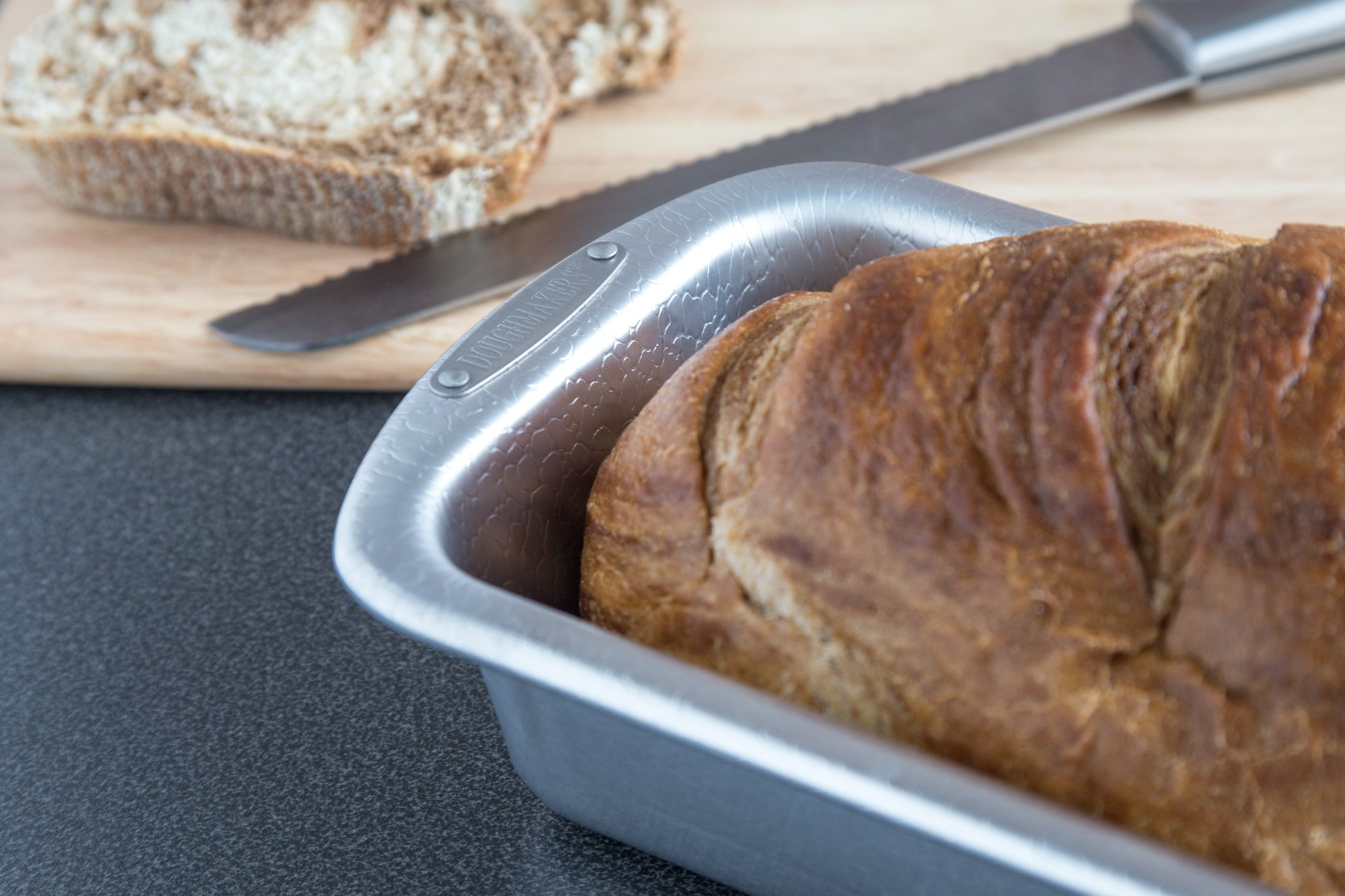Loaf Pan Commercial Grade Aluminum 8.5'' x 4.5'' by Doughmakers (Image #5)