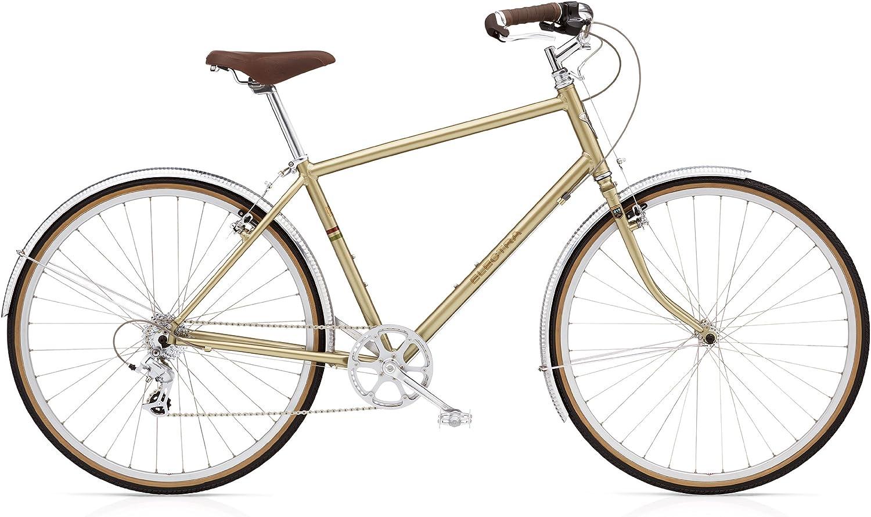 Bicicleta urbana Electra Ticino 8D dorada (Tamaño del cuadro: 48 ...
