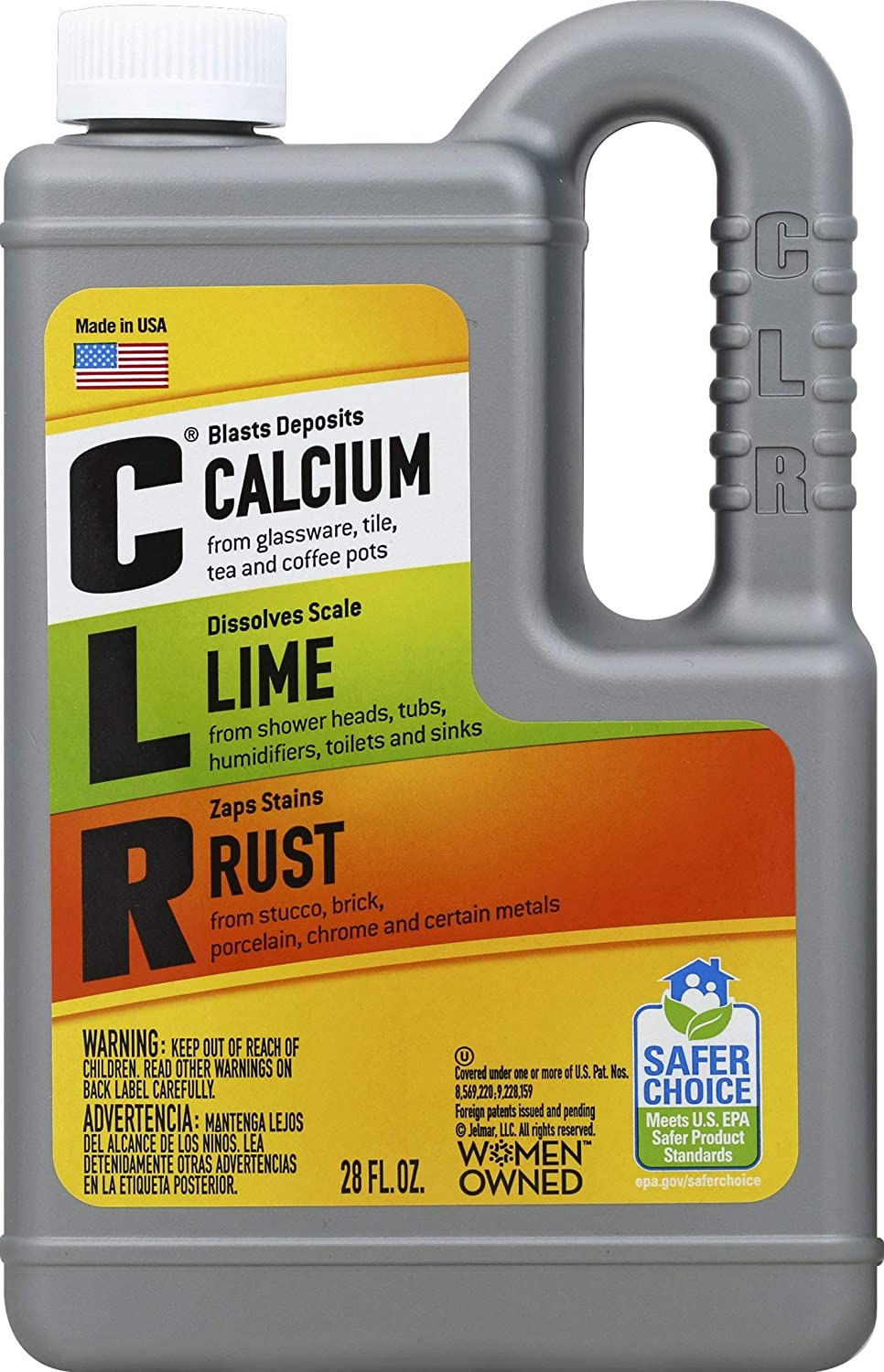 B00009EFEX CLR Calcium Lime Rust Remover, Enhanced Formula, 28 Ounce (828 ml) 81YK0WxGtdL