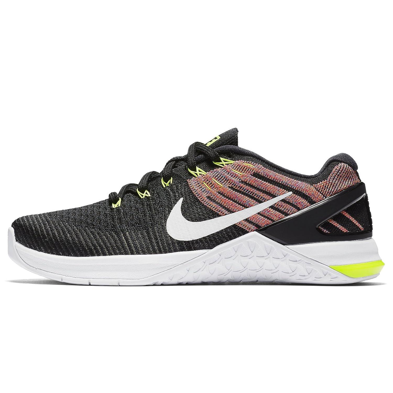 Nike Womens Metcon 3 Training Shoes B07C3BBKGQ 12 B(M) US|Black/White-volt-chlorine Blue
