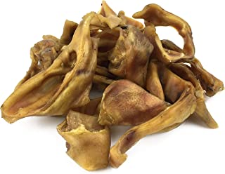 product image for Peppy Pooch Pig Ear Slices & Strips 1lb Pack, All Natural Treats for Dogs. Made in USA.