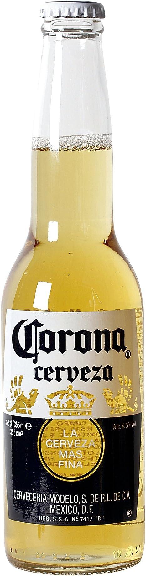 Corona - Cerveza - 355 ml: Amazon.es: Alimentación y bebidas
