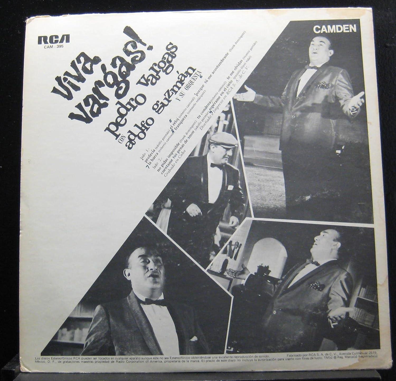 Pedro Vargas - Pedro Vargas - Viva Vargas! - Lp Vinyl Record - Amazon.com Music