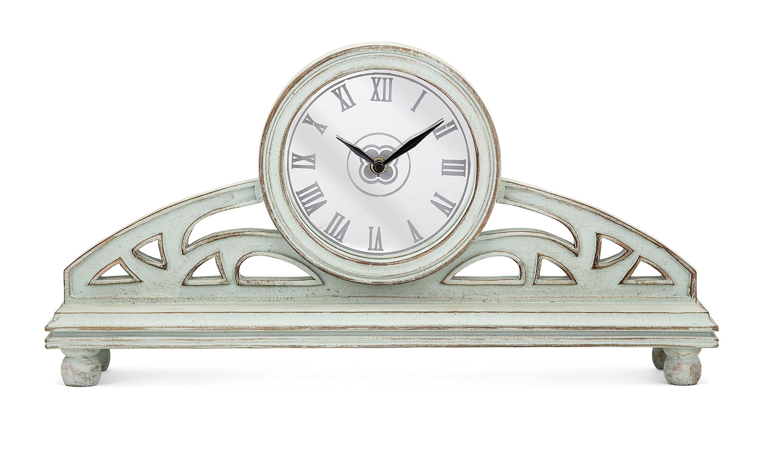 Imax Trisha Yearwood Home Collection 95914 Ty Songbird Mantel Clock Trisha Yearwood Home Songbird Mantel Clock