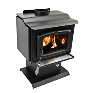 Pleasant Hearth 1200sq.Ft Wood Burning Stove
