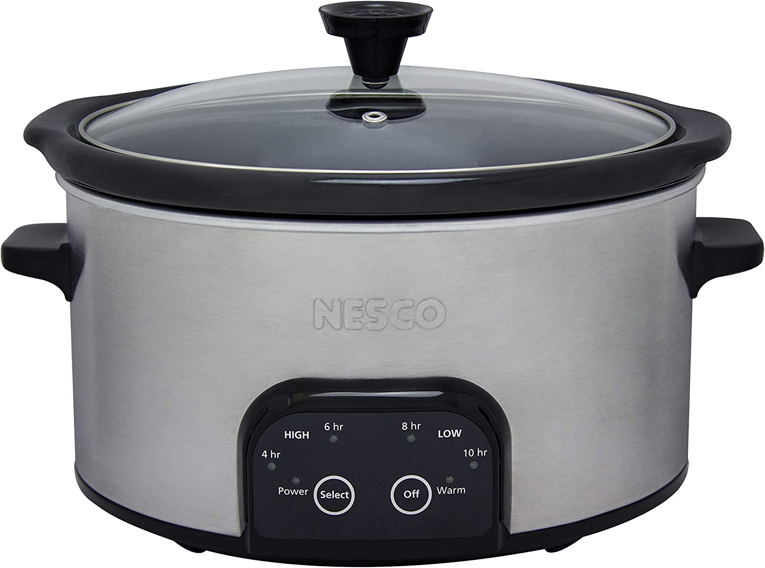 Nesco DSC-6-25 Slow Cooker, 6 Quart, Silver