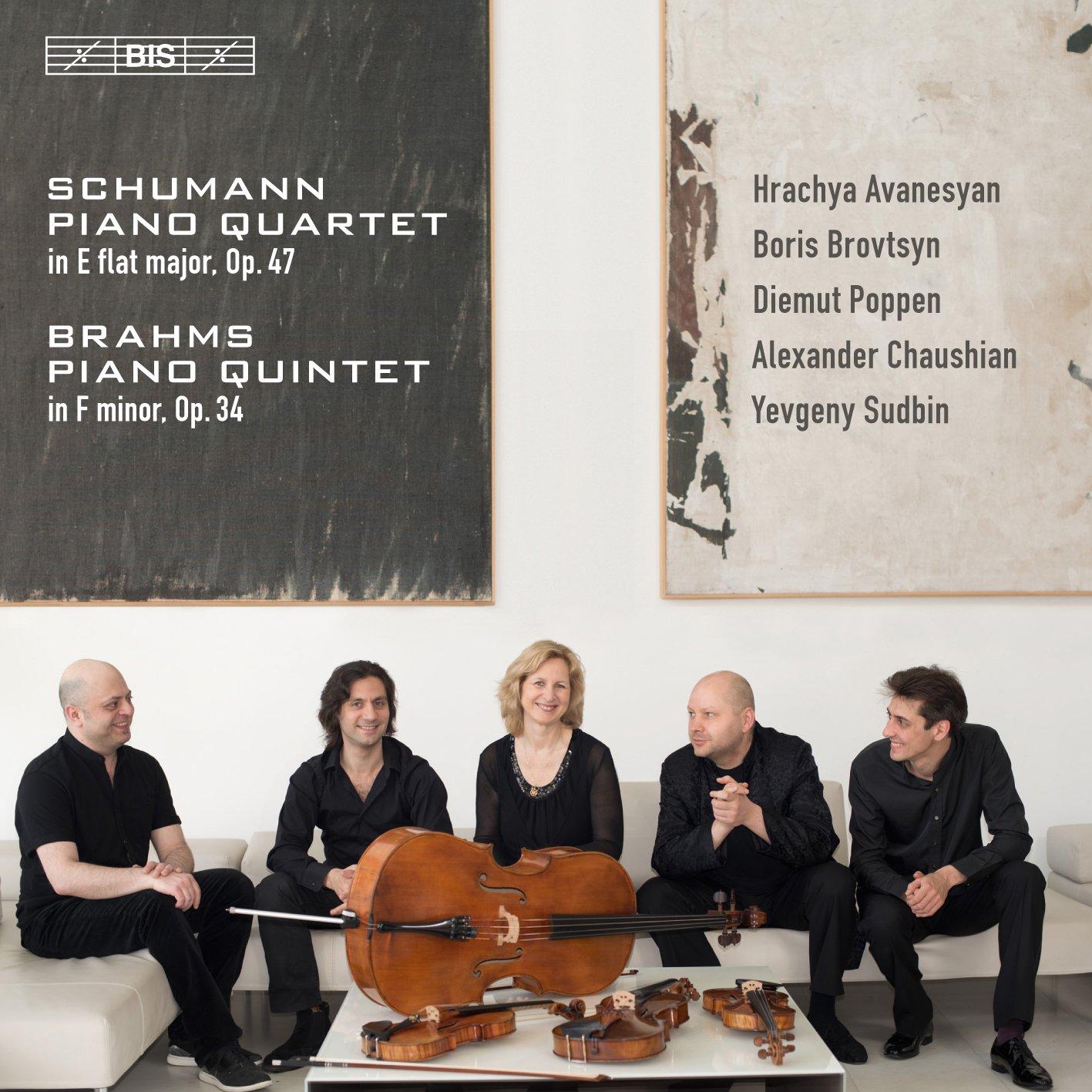 SACD : Brahms / Sudbin / Chaushian - Piano Quartet 47 / Piano Quintet 34 (Hybrid SACD)
