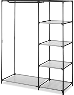 Whitmor Spacemaker Wardrobe With 5 Shelves