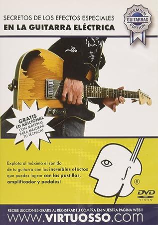 virtuosso efectos especiales en método de guitarra eléctrica (efectos especiales en la guitarra electrica) español sólo: Amazon.es: Instrumentos musicales
