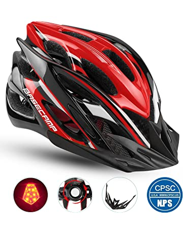 Basecamp Specialized Bike Helmet with CPSC Standard CE Certified Safety  Light Removable Visor 0b1182e968