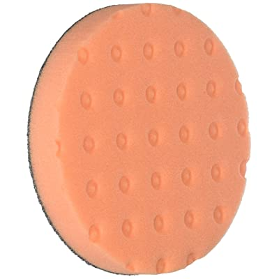 Lake Country - CCS Orange Hook & Loop Light Cutting Foam Pads - 5.5 Inch Diameter - 3 Pack: Automotive