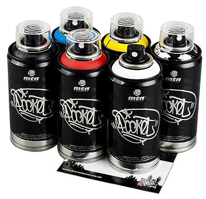 Bombolette Spray Per Murales.Bombolette Di Colore Mtn Per Graffiti Piccole Colori