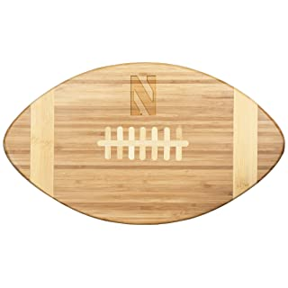 NCAA Northwestern Wildcats Touchdown! Bamboo Cutting Board, 16-Inch