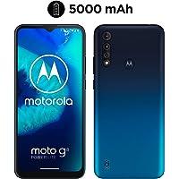 "Motorola  Moto G8 Power Lite (Pantalla 6,5"" HD+, procesador octa-core 2.3GHz, cámara triple de 16MP, batería de 5000 mAH, Dual SIM, 4/64GB, Android 9), Azul"