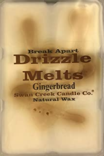 product image for Swan Creek Candle Soy Drizzle Melt 4.75 Oz. - Gingerbread