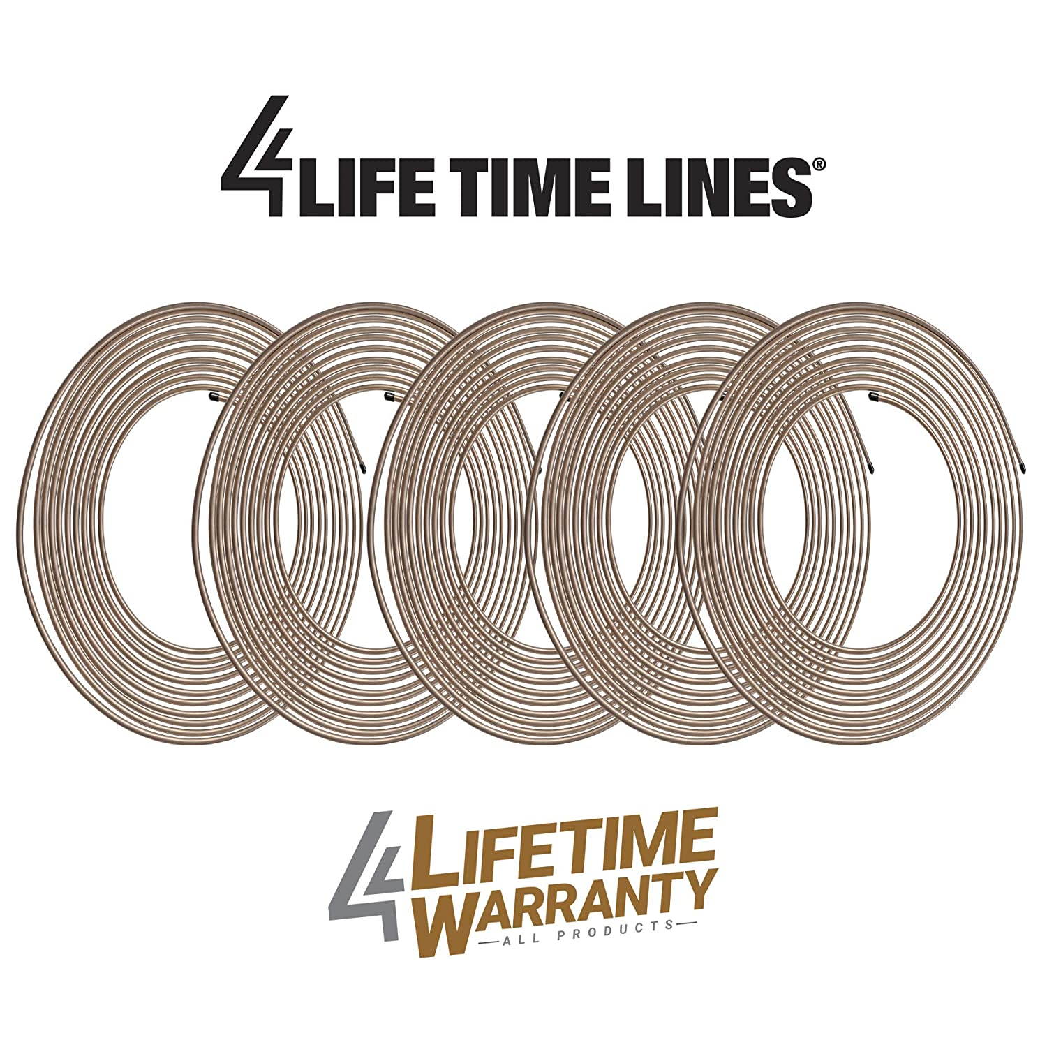 Adapter 9 SKU 4LIFETIMELINES Fitting Assortment 3//16 Metric Tube Nut Union