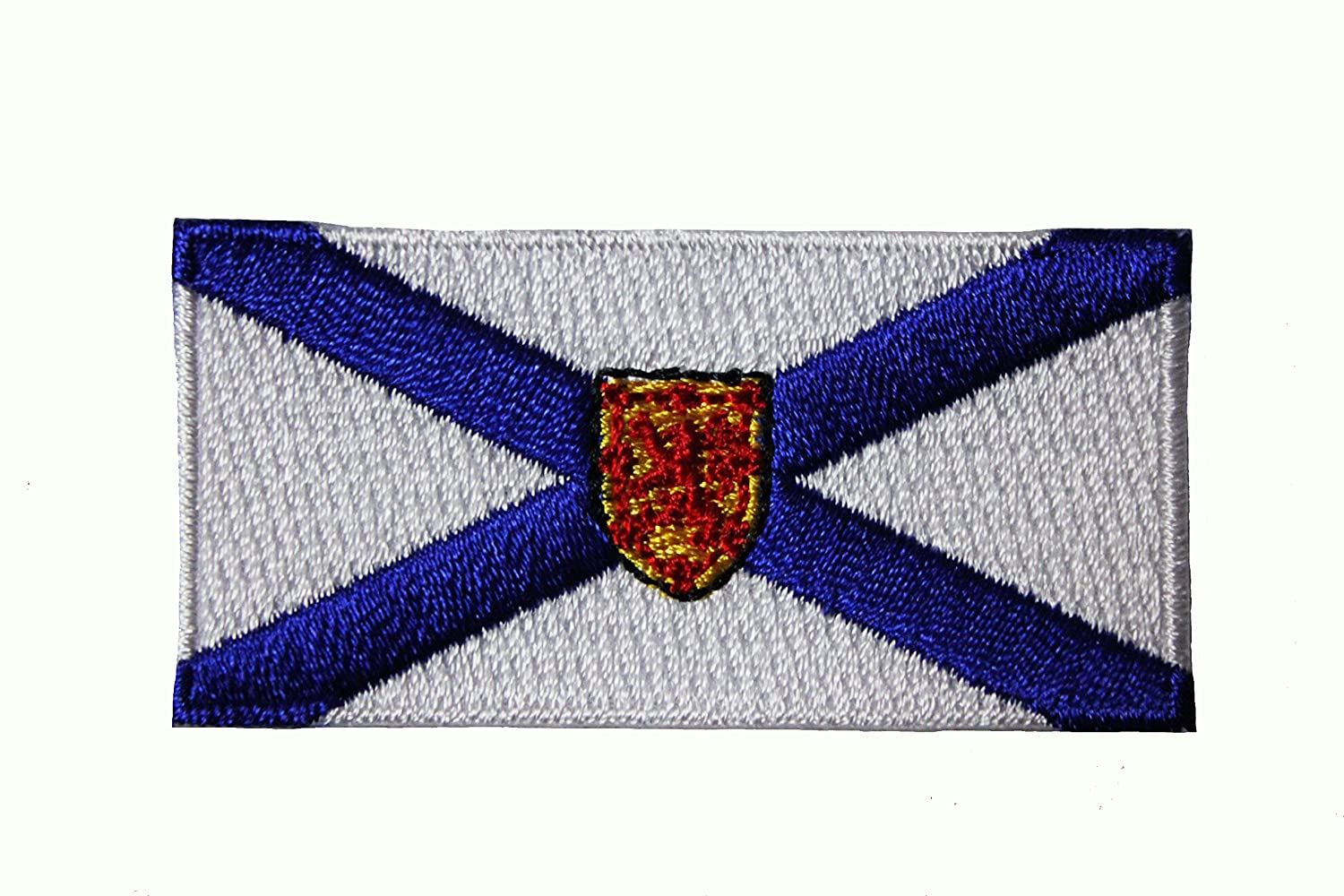 NOVA SCOTIA NS PROVINCIAL FLAG SMALL IRON ON PATCH CREST BADGE     CANADIAN  PROVINCE    Size : 2 5