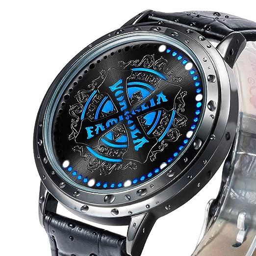 xingyunshi niños reloj Anime relojes pantalla táctil LED reloj: Amazon.es: Relojes