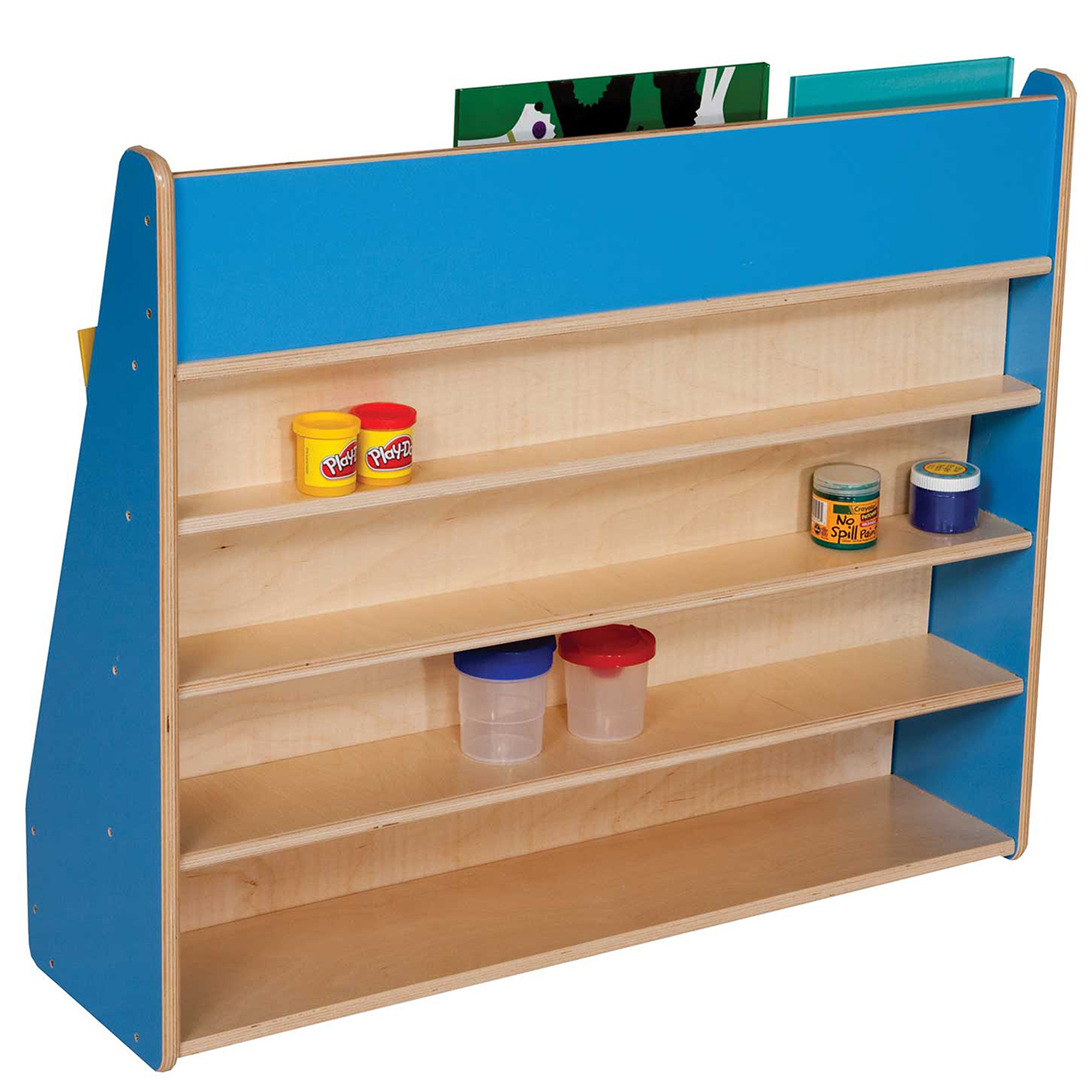 Healthy Kids Colors WD34300B Blueberry Book Display Stand