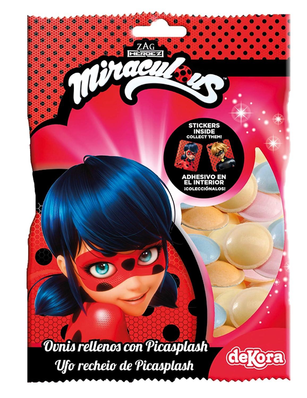 COOLMP - Lote de 6 Caramelos con Pegatinas Adhesivas Ladybug ...