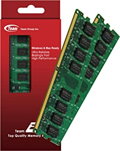 4GB (2GBx2) Team High Performance Memory RAM Upgrade For Dell Dimension E510 E510n E520. The Memory Kit comes with Life Time Warranty.