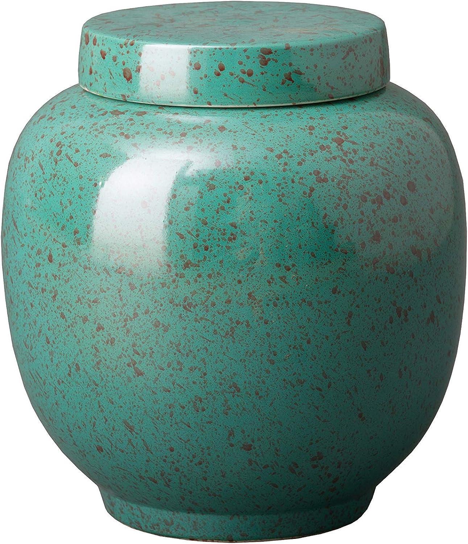 Emissary Home & Garden CC4182LS jar, Lagoon Speckle