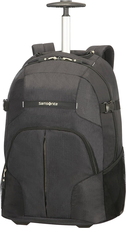 Samsonite - Rewind - Wheeled Mochila para Laptop  55 cm, 33 L, Negro