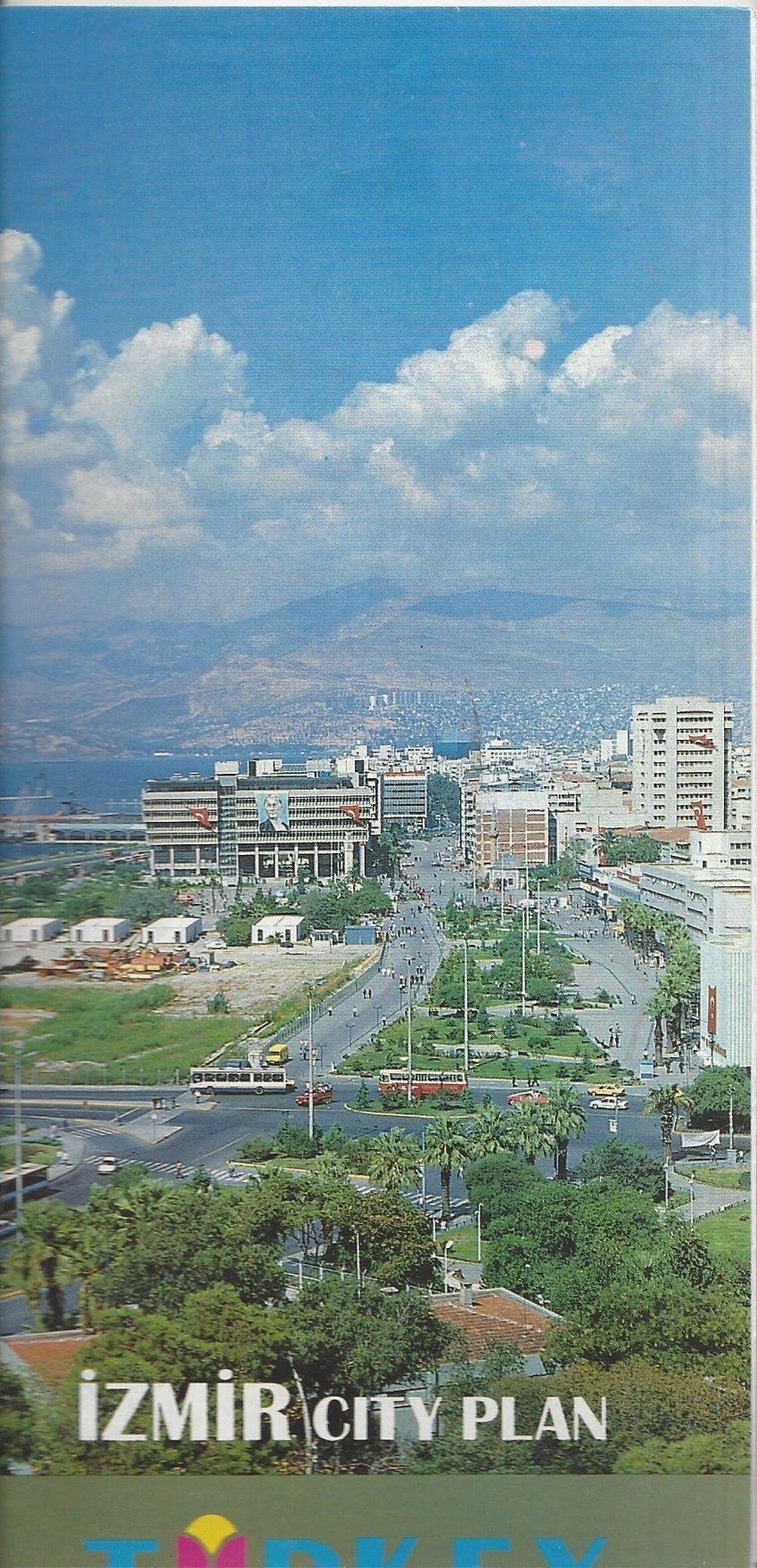 Izmir City Plan Turkey Map Ministry Of Tourism Amazon Com Books