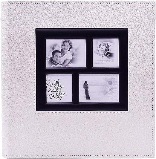 Facraft Wedding Photo Album 4x6 300 Beige Pu Leather Cover Mimbarschool Com Ng