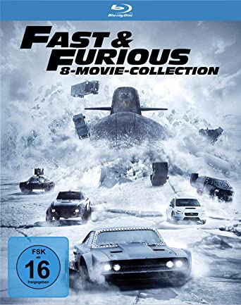 Fast Furious 8 Movie Collection Blu Ray Amazonde Vin Diesel