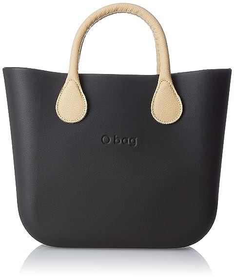 OBAG Mujer Bolso de mano Negro Size: 11x31x40 cm (W x H x L