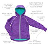 Therm Girls Rain Jacket, Lightweight Raincoat