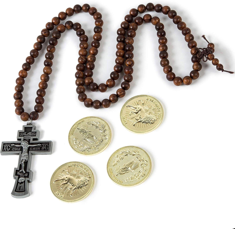 Silver Cross+4 Coins Coin Collecting Edition