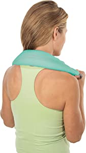 Bed Buddy Aromatherapy Heat Pad and Cooling Neck Wrap - Microwave Heating Pad for Sore Muscles - Cold Wrap Pack for Aches and Pain, Eucalyptus Scent