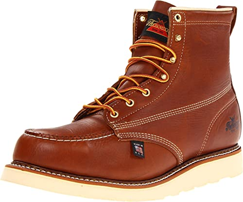 3. Thorogood Men's American Heritage Slip-Resistant Work Boot