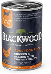 Blackwood Pet Grain Free Wet Dog Food Made in USA [All Natural Canned Dog Food], Available in 4 Flavor Varieties, 13 oz. can, Pack of 12