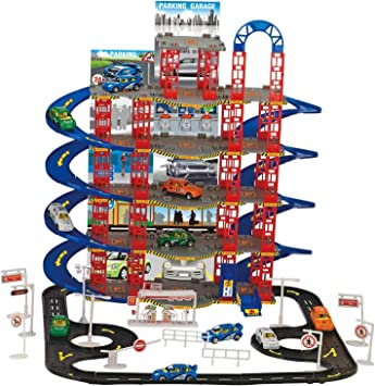 Vivo Multi Storey City Car Park Auto Parking Garage Die Cast Cars Truck Play Set Toy[108pc Garage]