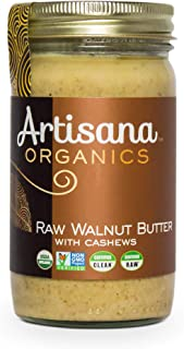 product image for Artisana Organics Raw Walnut Butter with Cashews (1 Pack (14 oz))