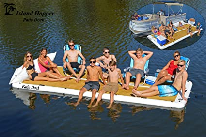 Amazon.com: Island Hopper Patio Dock Plataforma de agua ...